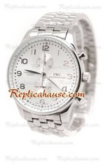 IWC Portuguese Chronograph Replica Watch 13