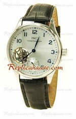 IWC Portuguese Tourbillon Swiss Replica Watch 01