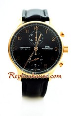 IWC Portuguese Chronograph Swiss Watch 4