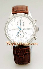 IWC Portuguese Chronograph Replica Watch 4