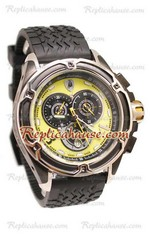Lamborghini Mesh Chronograph Japanese Replica Watch 03