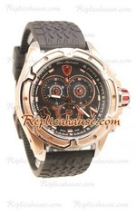 Lamborghini Mesh Chronograph Japanese Replica Watch 10