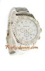 Mont Blanc Sports Chronograph Replica Watch 04