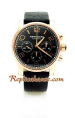 Mont Blanc Timewalker Swiss Watch 4