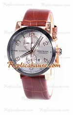 Mont Blanc Classic Flyback Chronograph Replica Watch 01