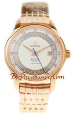 Omega CO AXIAL DeVille Hour Vision Swiss Replica Watch 1