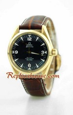 Omega Co-Axial Railmaster Swiss Replica Watch