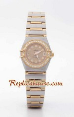Omega Constellation Replica Watch Ladies 3