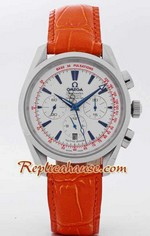 Omega Seamaster Chronometer Watch Orange 1