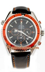 Omega Seamaster - Planet Ocean Leather Watch 13