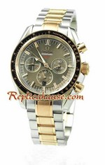 Omega Speedmaster Two Tone Replica Watch 01