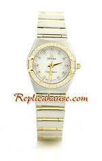 Omega Constellation Swiss Watch - Pure Gold Watch Ladies 2