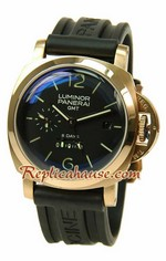 Panerai Luminor GMT 8 Days Swiss Replica Watch 02