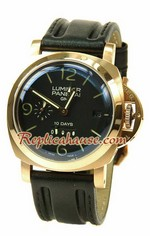 Panerai Luminor GMT 10 Days Swiss Replica Watch 06