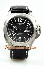 Panerai GMT Swiss Replica Watch - Grey Dial 6