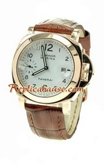 Panerai Luminor 00111 Pink Gold Japanese Movement 01