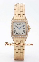 Cartier Santos Demioselle Replica Watch Gold Ladie