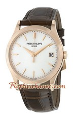 Patek Philippe Calatrava Swiss Watch 16<font color=red>หมดชั่วคราว</font>