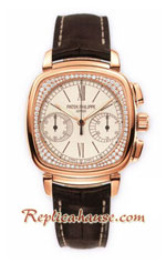 Patek Philippe Ladies First Chronograph 7071 Swiss Watch 09
