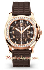 Patek Philippe Luce Gold Diamond Ladies First Swiss Watch 17