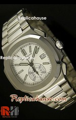 Patek Philippe Nautilus Chronograph Swiss Watch 22<font color=red>หมดชั่วคราว</font>