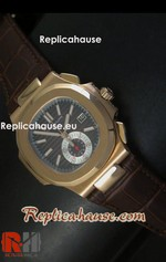 Patek Philippe Nautilus Chronograph Swiss Watch 20<font color=red>หมดชั่วคราว</font>