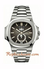 Patek Philippe Nautilus Moon Brown Dial Swiss Watch 27