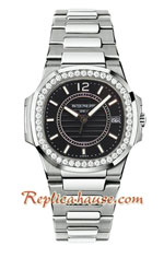 Patek Philippe Nautilus Ladies 2018 Swiss Replica Watch 04