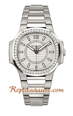 Patek Philippe Nautilus Ladies 2018 Swiss Replica Watch 05