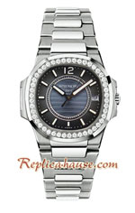 Patek Philippe Nautilus Ladies 2018 Swiss Replica Watch 06