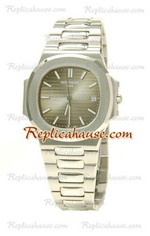 Patek Philippe Mens Swiss Nautilus Replica Watch 04