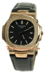 Patek Philippe Mens Swiss Nautilus Replica Watch 01