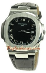 Patek Philippe Mens Swiss Nautilus Replica Watch 02