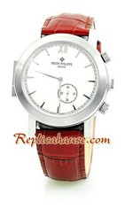 Patek Philippe Double Dial Replica Watch 02<font color=red>หมดชั่วคราว</font>