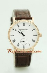 Patek Philippe Calatrava Replica Watch 2
