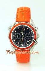Omega Seamaster - Planet Ocean Leather Watch 2