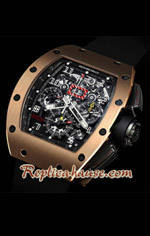 Richard Mille RM011 Automatic Flyback Chronograph Rose Gold 3