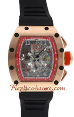 Richard Mille RM011 Automatic Rose Gold 4