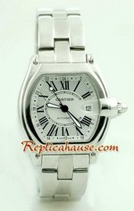 Cartier Roadster Automatic GMT Watch 1