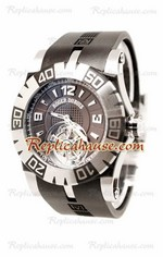 Roger Dubuis Tourbidiver Tourbillon Swiss Replica Watch 02