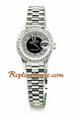 Rolex Replica Datejust Silver Ladies Watch 03<font color=red>หมดชั่วคราว</font>