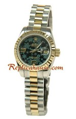 Rolex Replica Floral Motif Datejust Ladies Watch 02