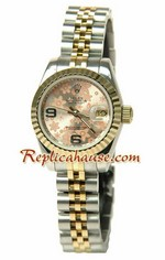Rolex Replica Floral Motif Datejust Ladies Watch 05