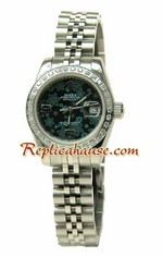 Rolex Replica Floral Motif Datejust Ladies Watch 07