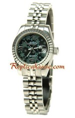 Rolex Replica Floral Motif Datejust Ladies Watch 08