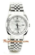 Rolex Replica Datejust Silver Watch 05