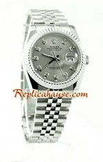Rolex Replica Datejust Silver Watch 08
