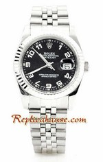Rolex Replica Datejust Silver Watch 02