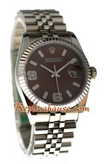 Rolex Replica Datejust Silver Watch 24
