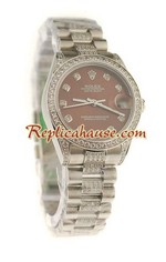 Rolex Replica Datejust Swiss Watch - Boy Size 36<font color=red>หมดชั่วคราว</font>